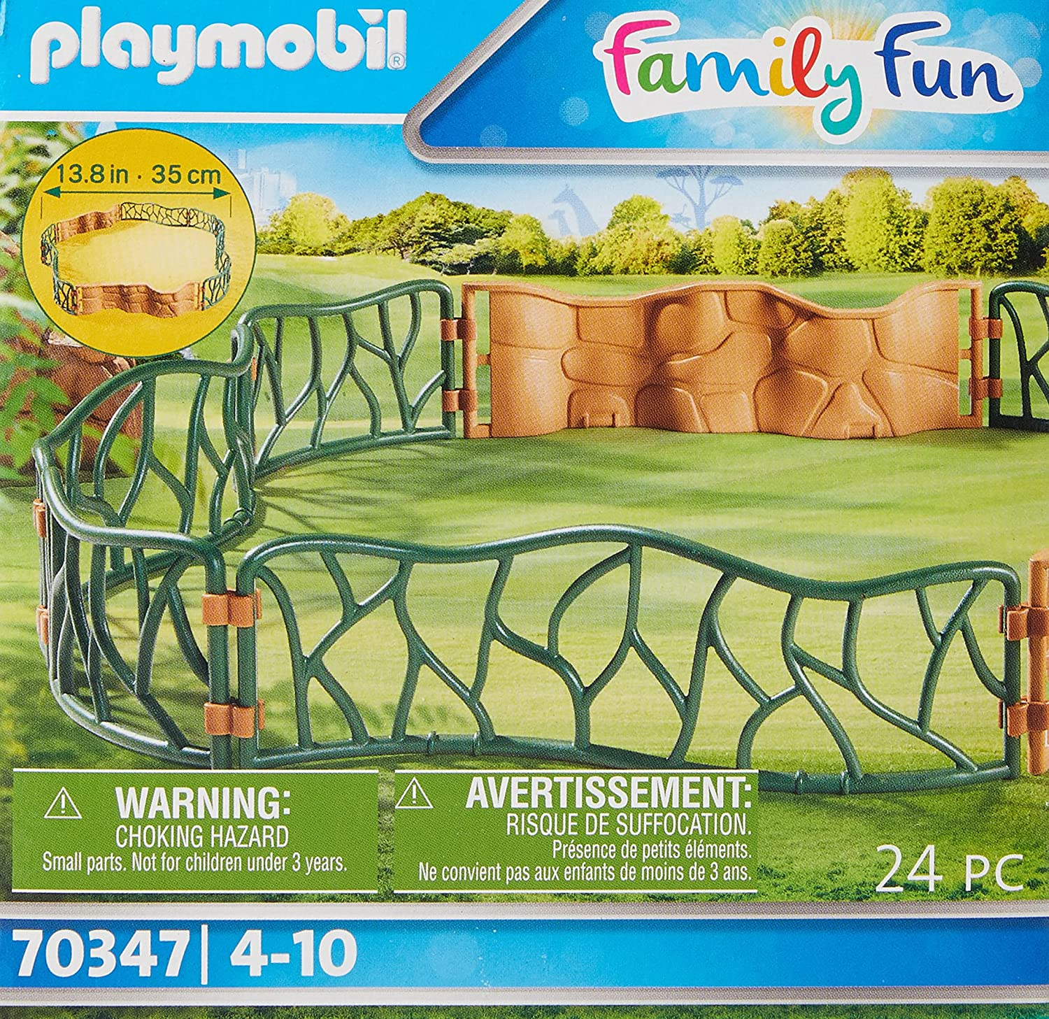 Playmobil 70347 Family Fun Zoo Enclosure Special price Spring new work one after another