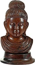 Fine Buddha Head- A Symbol of Goodluck - Wood Statue