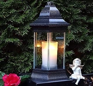 Gioielli tomba luce tomba lanterna tomba luce tomba Lampada Vetro Chiaro Incl CANDELA verdetto di M.