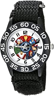 Marvel Kids' W002624 Avengers Time Teacher Analog Display...