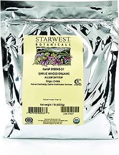 Starwest Botanicals Organic Garlic Minced, 1 Pound