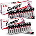 48-Count Energizer 24 AA and 24 AAA Batteries