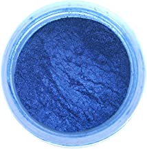 Sapphire Blue Luster Dust, 4 gram container
