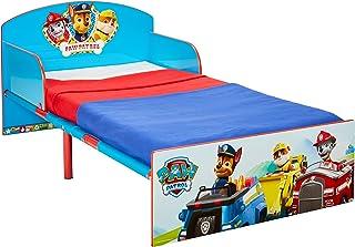 comprar comparacion Paw Patrol Cama Infantil, Madera, Azul, 42.50x77.00x143.00 cm