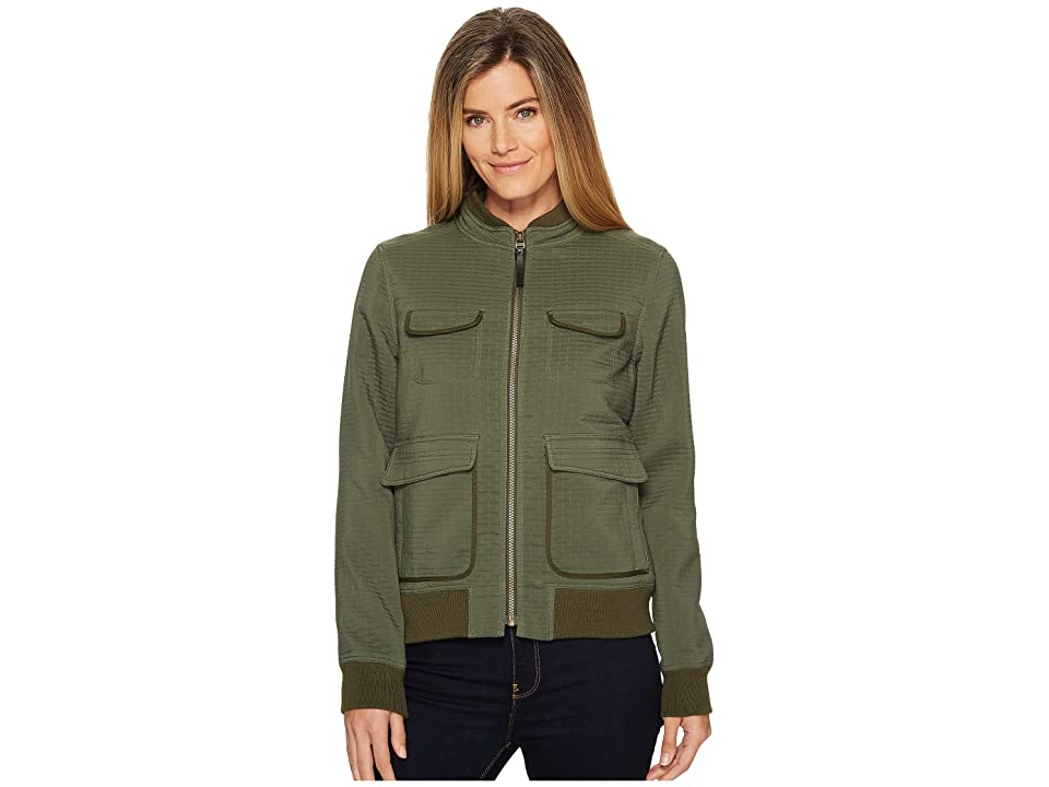 Prana Minx Bomber Jacket (Forest Green) Women