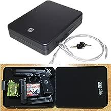 E-ONSALE AmeriGun.Club X-Large Size Handgun Safe Vault Security Pistol Safety Case Box