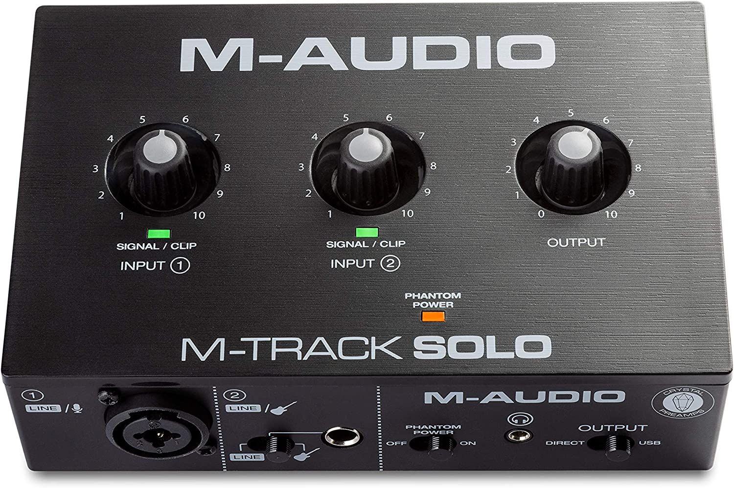 M-Audio Manufacturer OFFicial shop M-Track Solo – USB Cheap mail order shopping Recording Audio S for Interface