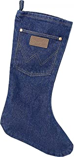 Wrangler Apparel WSL Denim Christmas Stocking