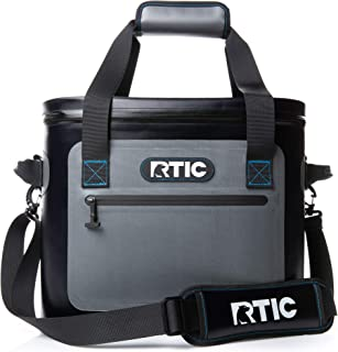 RTIC Insulated Soft Cooler Bag, Leak Proof Zipper, Keeps Ice Cold for Days, 30