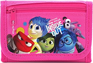 Disney Pixar Authentic Licensed Inside Out Trifold Wallet (Pink)