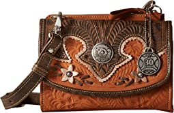 American West - Desert Wildflower Crossbody Bag/Wallet