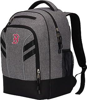 """MLB Boston Red Sox """"Razor"""" Backpack, Grey, 19 x 8 x 12"""