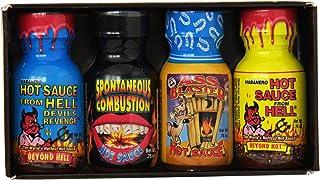 Ass Kickin Xtreme Heat Hot Sauce Mini Gift Pack, 4 Count