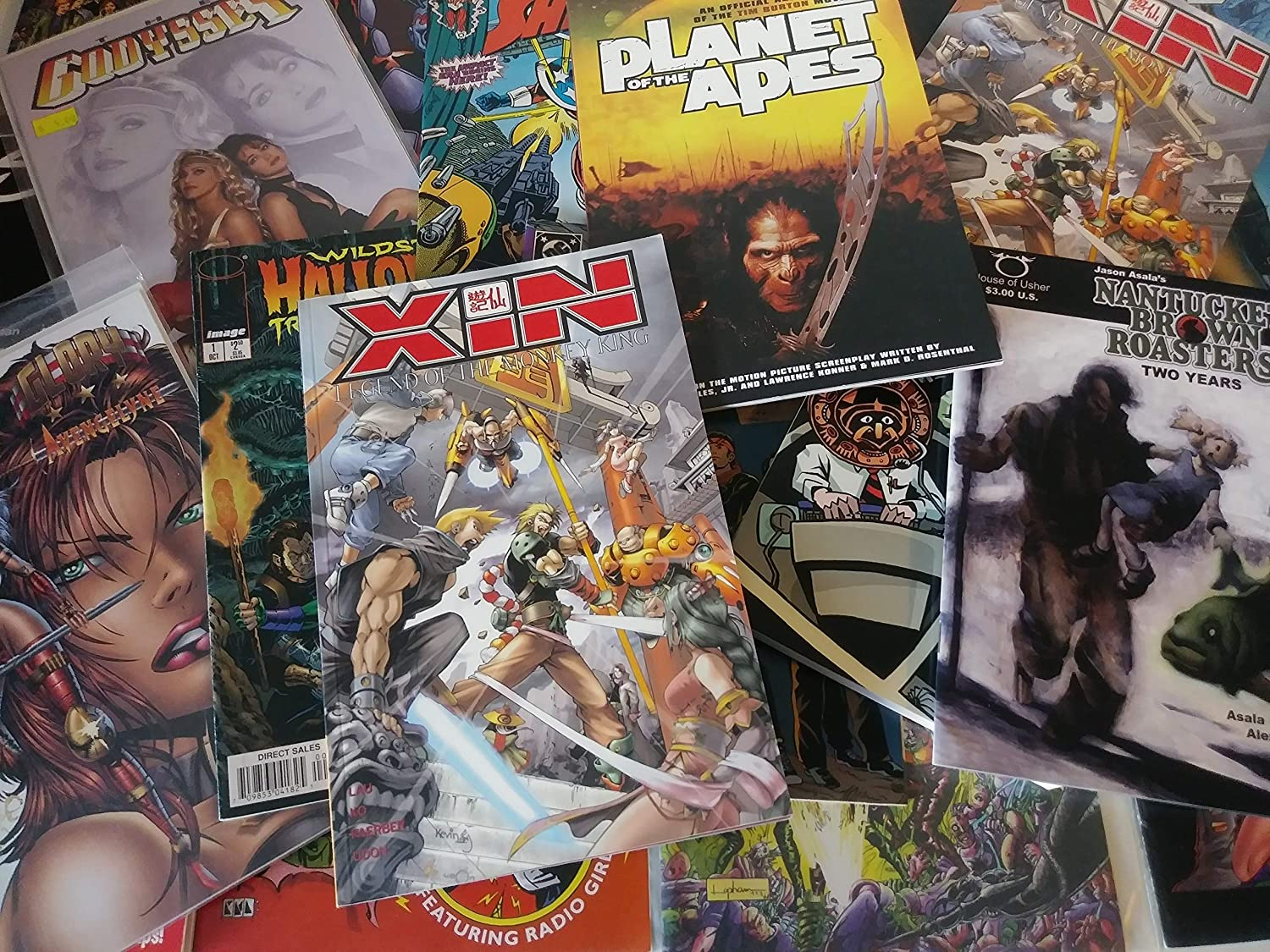 Wholesale LOT 50 Independently (Indie Indy) Published Comic Books