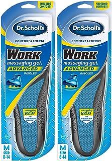 Dr Scholl's Work Massaging Gel Advanced Insoles, 2 Pairs (men's 8-14), 2 Count