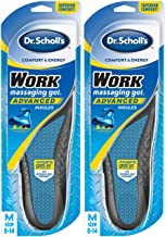 Dr. Scholl's WORK Insoles (Pack 2) // All-Day Shock Absorption and Reinforced Arch..