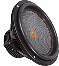 """Alphasonik DSW512 Dynamis 500 Series 12"""" 2400 Watts Max / 800 Watts RMS Dual 4 Ohm Car Subwoofer Die Cast Aluminum Basket w/ Double Stacked Magnets Carbon Fiber Cone Cooling Rings System Sub Woofer"""