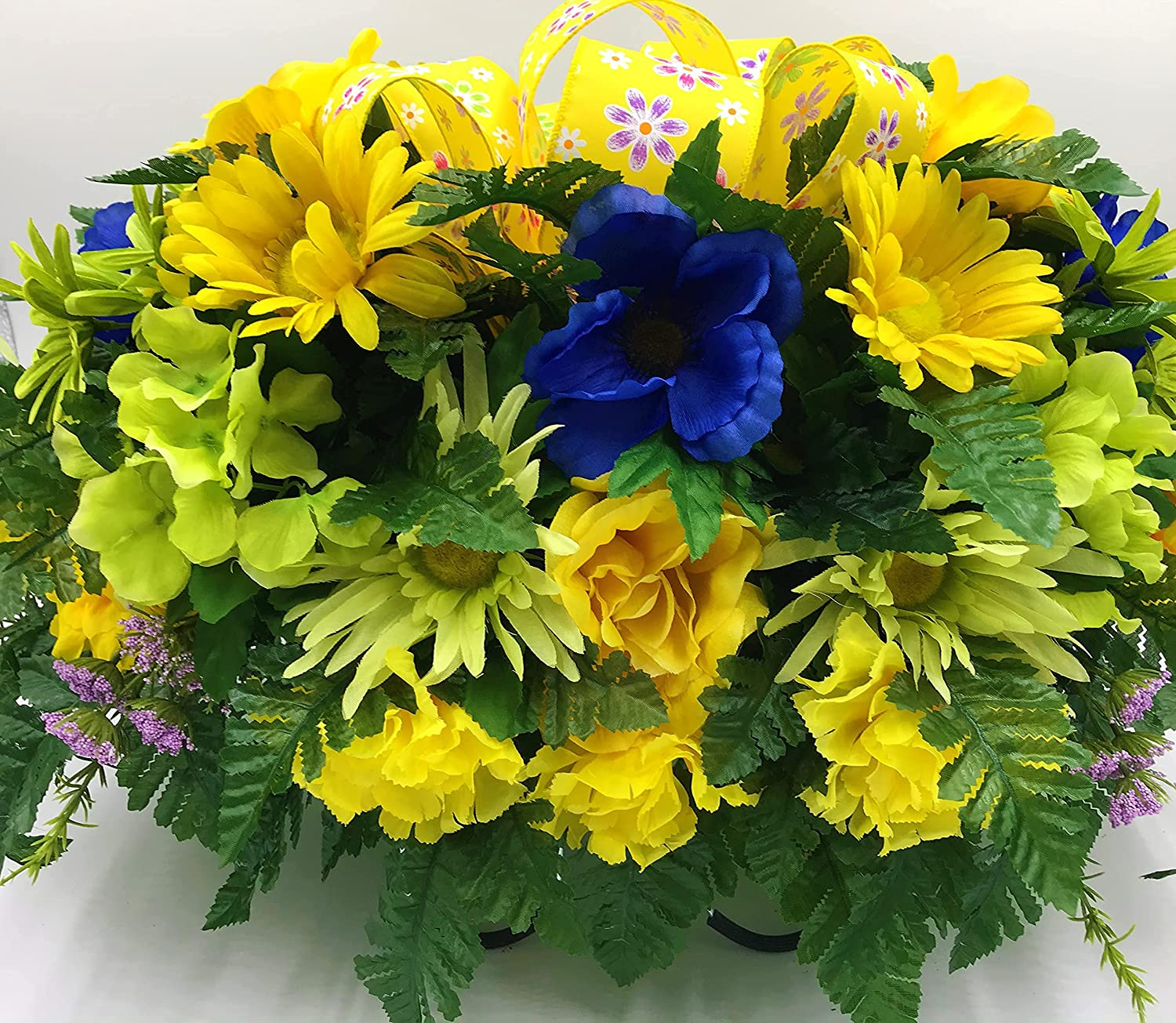 Yellow Memorial Cemetery Saddle cheap Arran Spring Decorations Very popular Flowers