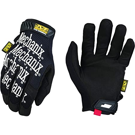 Mechanix Wear: The Original Work Gloves (Large, Black)
