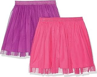 Amazon Brand - Spotted Zebra Girl's Toddler & Kid's 2-Pack Tutu Skirts