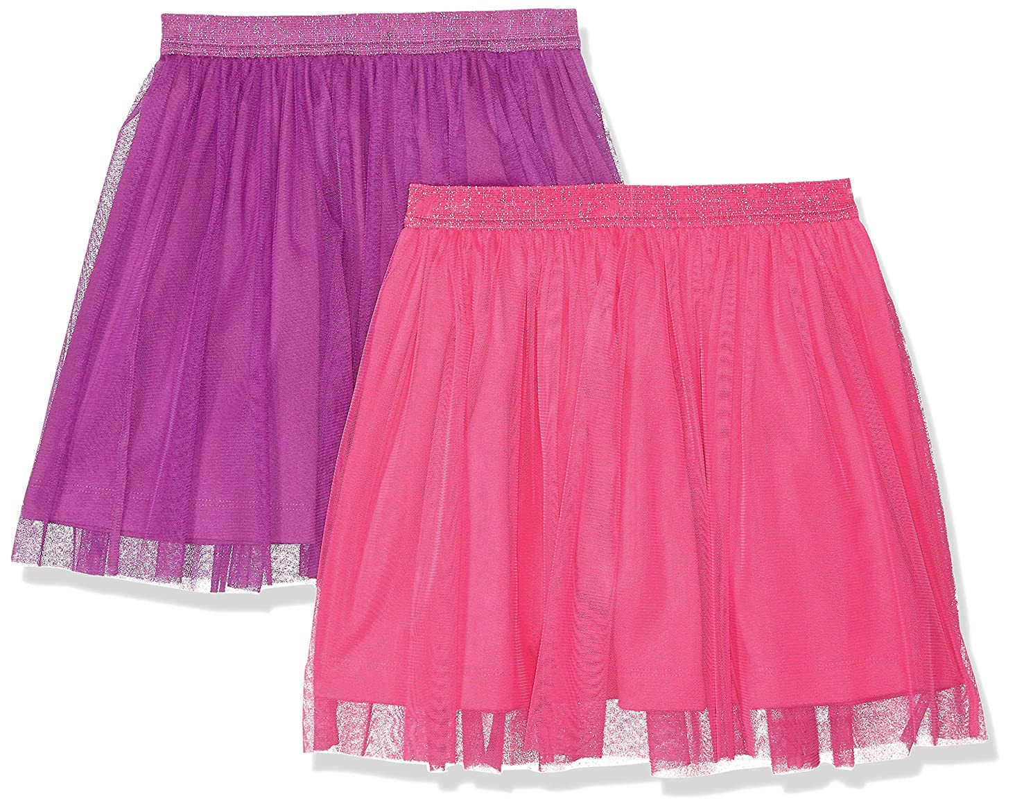 Amazon Brand - Spotted Zebra Girls' Toddler & Kid 2-Pack Tutu Skirts