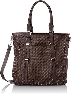 [legesta] 大手提包 单肩包 支持A4用 2way 男式 女式 男女兼用 肩背 附带肩带 复古 黑色 白色 茶色 3种颜色 508