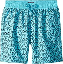Ancre De Chine Anchor Printed Trunks (Toddler/Little Kids/Big Kids)