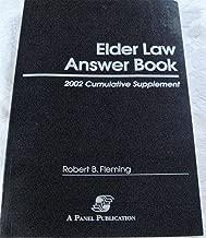 Elder Law Answer Book: 2002 Cumulative Supplement