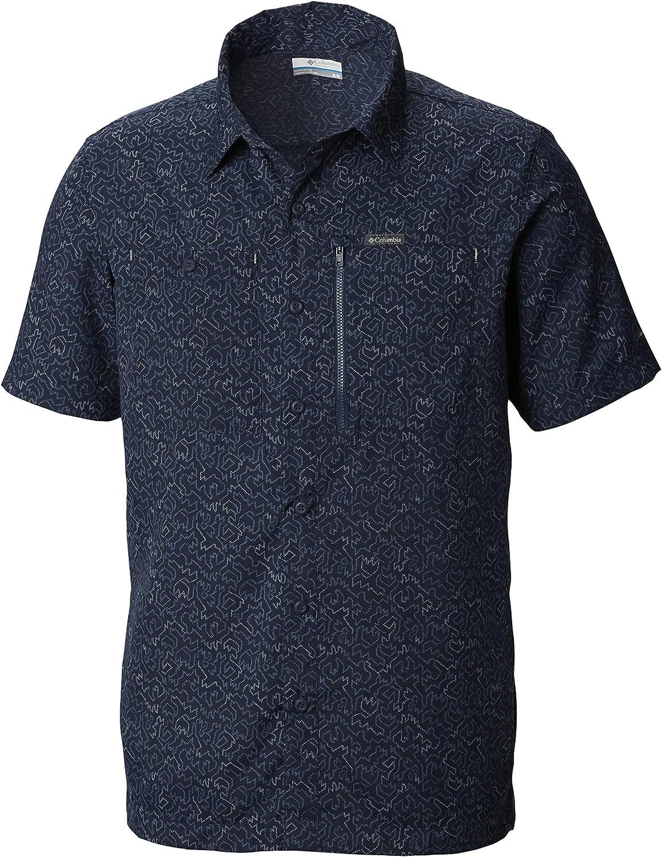 Columbia Men's Pilsner Peak Sleeve Luxury goods Print Short Ii San Diego Mall