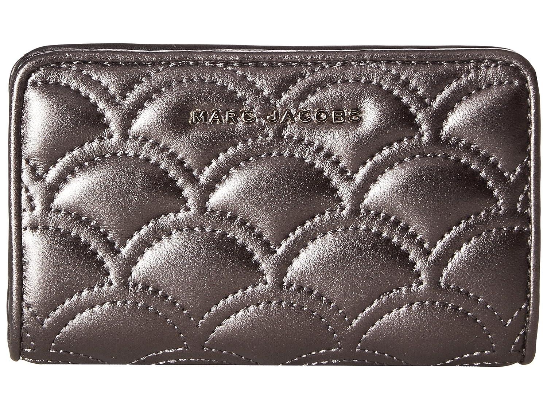 [マークジェイコブス] Marc Jacobs レディース Matelasse Metallic Compact Wallet ウォレット [並行輸入品]