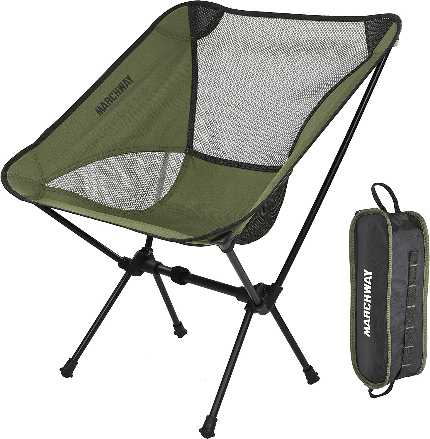 MARCHWAY shipfree Ultralight Folding Camping Chair famous Compact for Portable