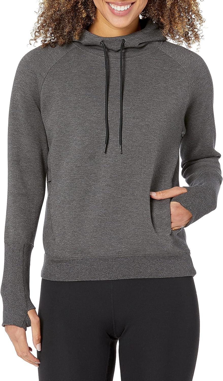 Core 10 Women's Relaxed Fit Motion Tech Fleece Hoodie (Xs-XL. Plus Size 1x-3x)