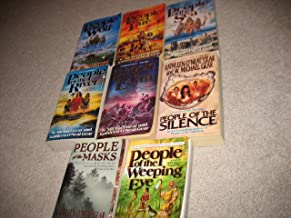 8 Book Set The First North American Series Books by Michael & Kathleen Gear~ People of the Wolf/People of the Fire/People ...