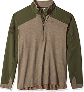 5.11 Tactical Men's Rapid Quarter Zip, Two Way Stretch Fabric, Moisture Wicking, Style 72415
