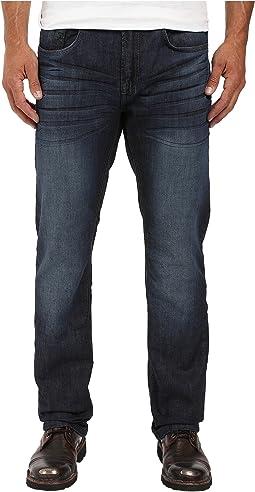 Buffalo David Bitton - Six Straight Leg Jeans in Rigid and Slightly Sanded