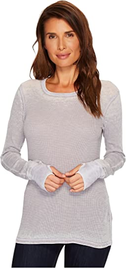 Pebble Thermal Long Sleeve Thumbhole Tee