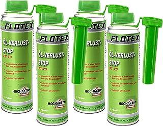 Flotex Öl Verlust Stopp, 4 x 250ml Additiv reduziert Ölverlust