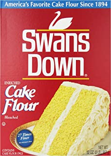 Swans Down Regular Cake Flour, 32-Ounce Boxes (Pack of 8)