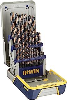 IRWIN Drill Bit Set, High-Speed Steel, 29-Piece (3018005)