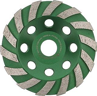 PRODIAMANT Premium diamant slipkopp hjul betong 125 mm 5 tum x 8,2 mm diamant slipskål standard för betong, murverk, sten ...