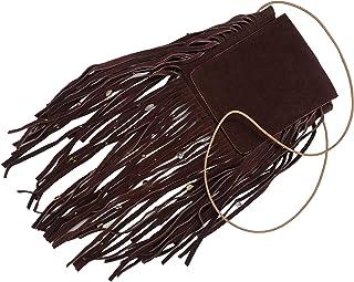 Kiki Boho   Mystica Vino, bolsa de gamuza color rojo vino