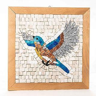 Kit mosaico artistico Prendi il Volo - Idea Regalo Originale - Kit arte fai da te per adulti - Tessere di mosaico in marmi...