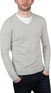 Urban Heritage Mens Lightweight V Neck Jumper Pullover Sweater Top