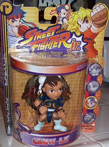 disfruta ahorrando 30-50% de descuento STREET FIGHTER JR. CHUN-LI ACTION FIGURE by Street Fighter Fighter Fighter by Street Fighter  opciones a bajo precio