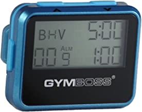 Gymboss Interval Timer and Stopwatch - Teal/Blue Metallic Gloss