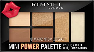 Rimmel London Mini Power Eye Shadow Palette, 02 Sassy, 7 gm