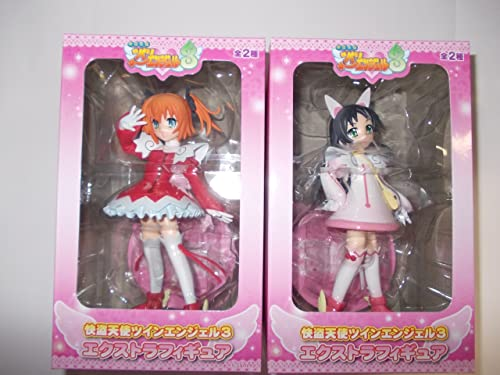 (Limited availability) Kaitou Tenshi Twin Angel Figure 3 EX (all set of 2) (japan import)