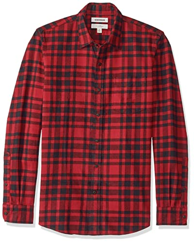 95094d740 Black and Red Plaid Shirt: Amazon.com