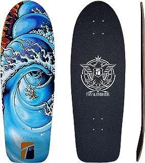 TXIN - Surfskate Deck Fire Barrel 30,5 monopatin Skate Sk...