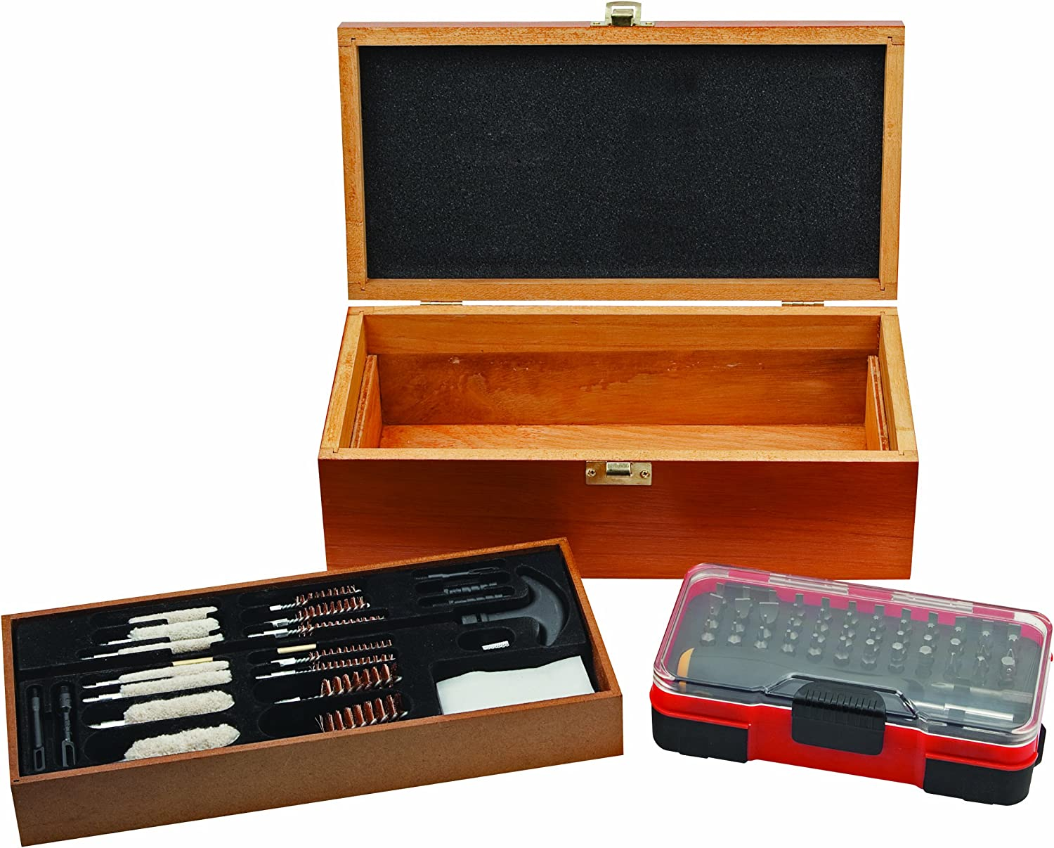 Outers 70102 Deluxe 25Piece Gun Cleaning Kit with 51Piece Screwdriver Set